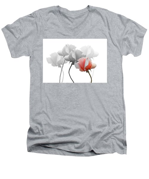 Five Roses Men's V-Neck T-Shirt