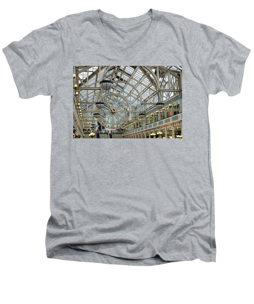 Five To Three - At St. Stephens Green Shopping Centre In Dublin Men's V-Neck T-Shirt