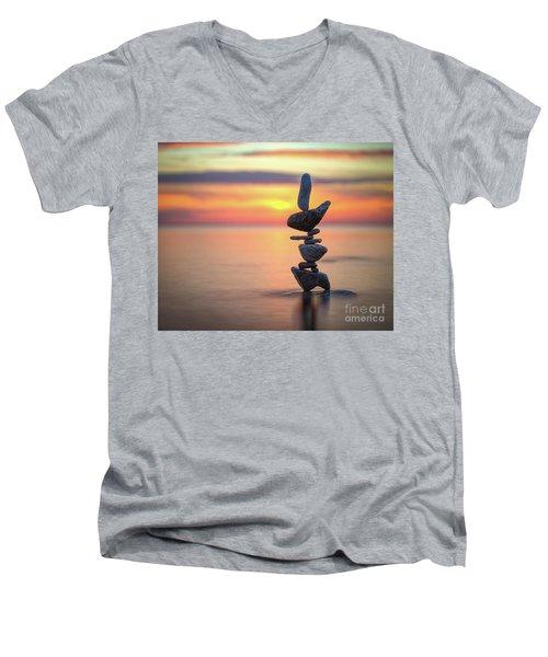 Fiyah Men's V-Neck T-Shirt