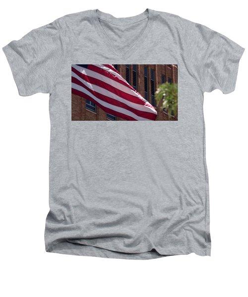 Flag Courtship Men's V-Neck T-Shirt