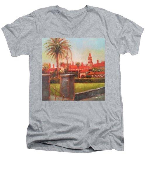 Flagler College Men's V-Neck T-Shirt