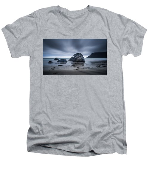 Flakstad Beach Men's V-Neck T-Shirt