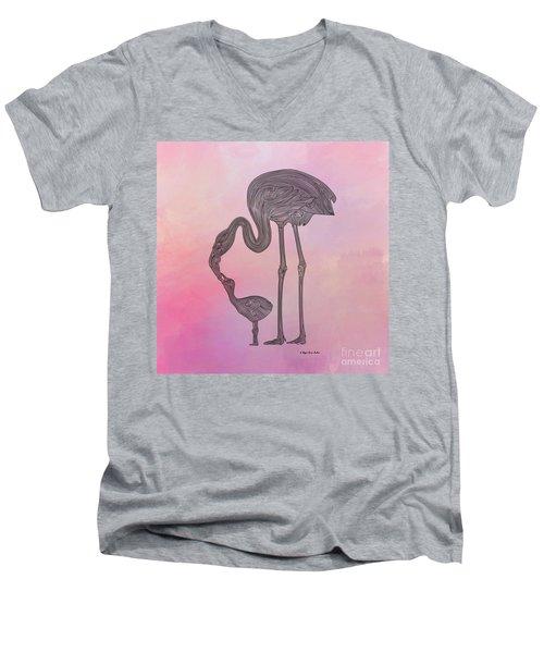 Flamingo6 Men's V-Neck T-Shirt
