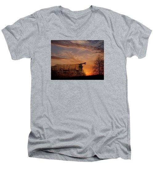Flashback Men's V-Neck T-Shirt