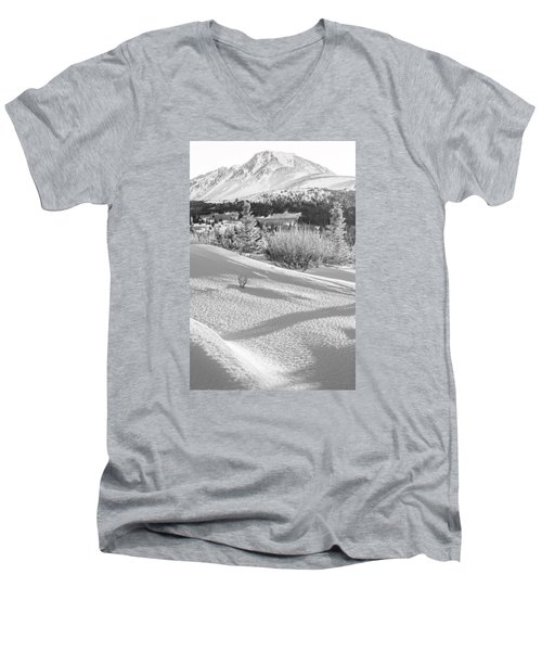 Flattop In Winter Men's V-Neck T-Shirt