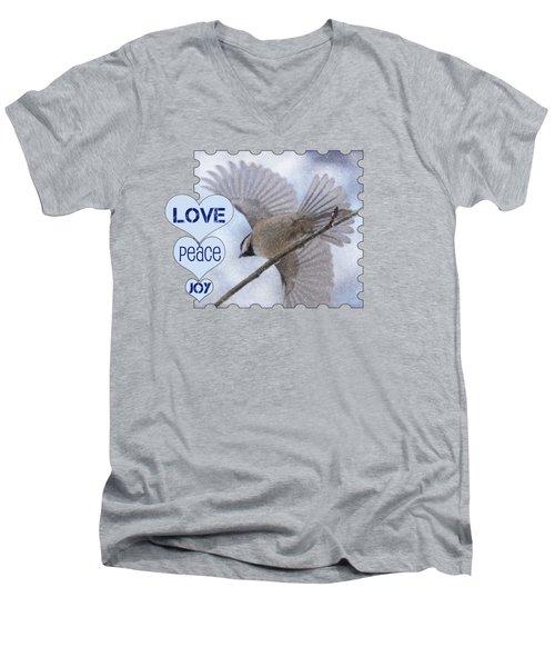 Flight Men's V-Neck T-Shirt by Karen Beasley