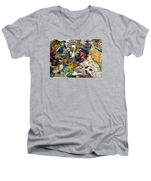 Flight Men's V-Neck T-Shirt