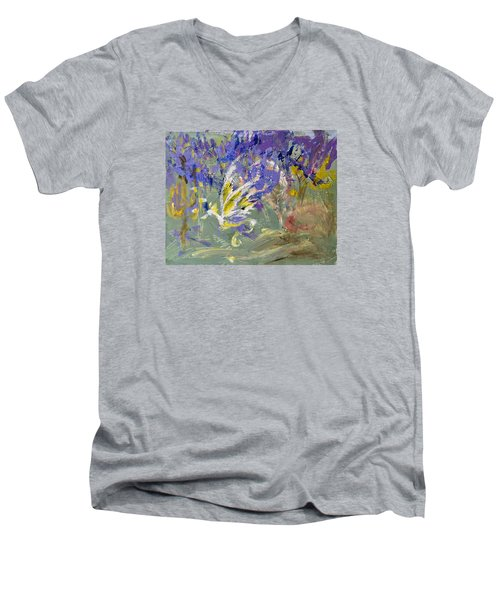 Flight Of Dreams Men's V-Neck T-Shirt