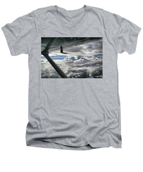 Flight Of Dreams Men's V-Neck T-Shirt