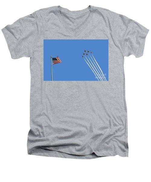 Flight Of Six Men's V-Neck T-Shirt