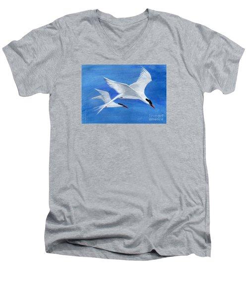 Flight - Painting Men's V-Neck T-Shirt