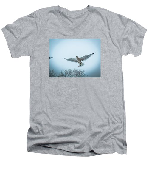 Floating On Hope  Men's V-Neck T-Shirt by Glenn Feron