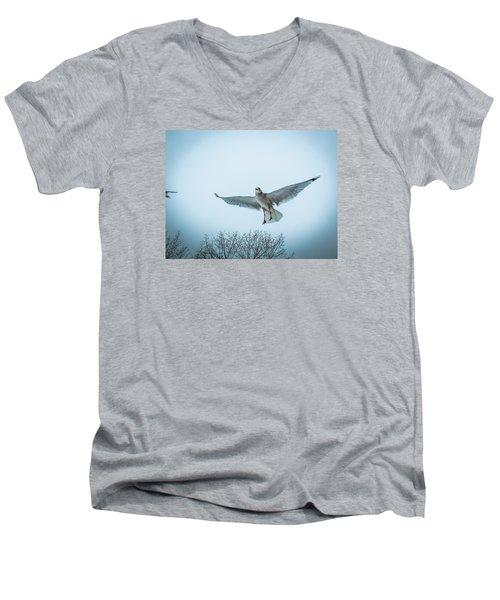Floating On Hope  Men's V-Neck T-Shirt
