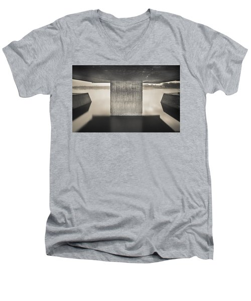 Flood Marking Men's V-Neck T-Shirt