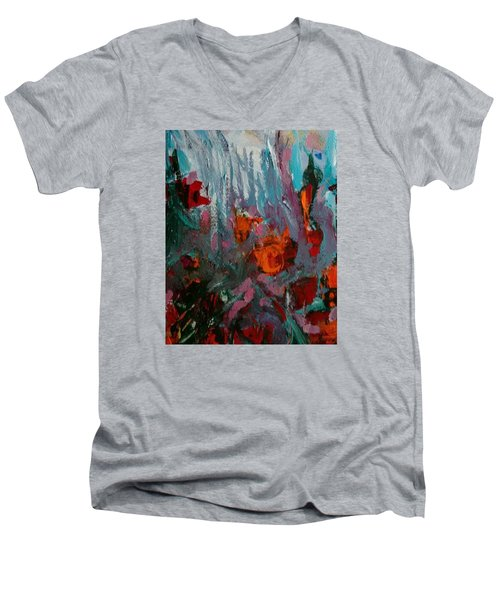 Flora Men's V-Neck T-Shirt