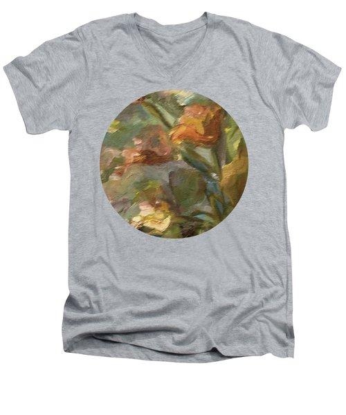 Floral Bouquet Men's V-Neck T-Shirt