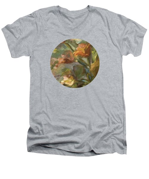 Floral Bouquet Men's V-Neck T-Shirt