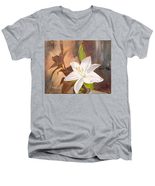 Floral-still Life Men's V-Neck T-Shirt