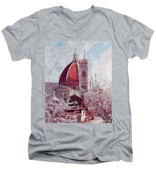 Florence - 16 Men's V-Neck T-Shirt