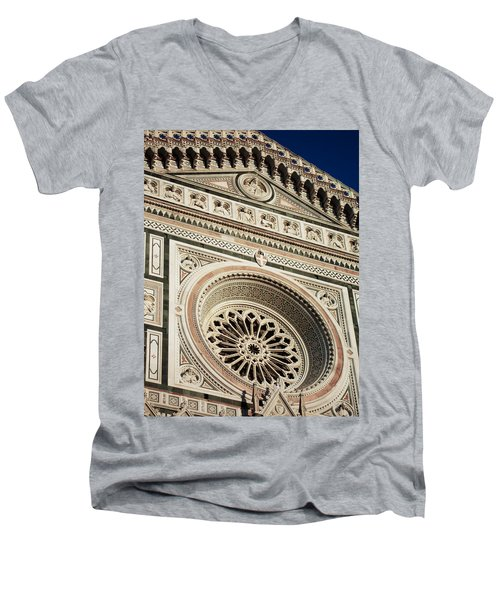Florence Men's V-Neck T-Shirt by Silvia Bruno