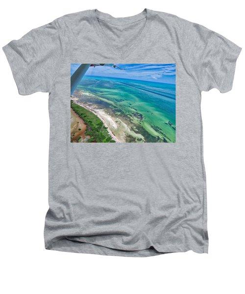 Florida Keys Men's V-Neck T-Shirt