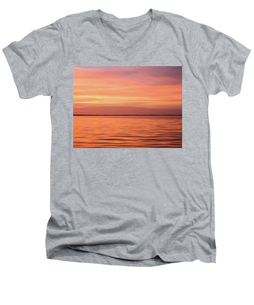 Florida Keys Sunset Impressions Men's V-Neck T-Shirt