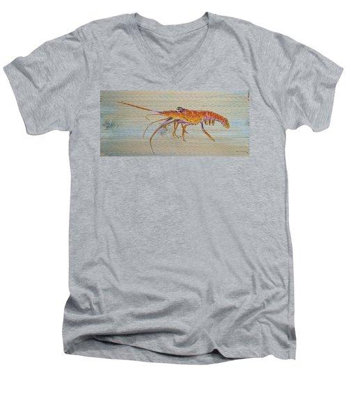 Florida Lobster Men's V-Neck T-Shirt
