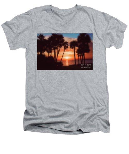 Florida- Sunset Memories Men's V-Neck T-Shirt