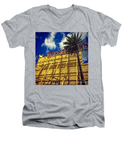 Florida Thunderbird Drive In Men's V-Neck T-Shirt