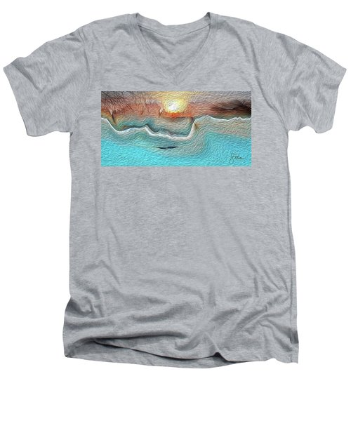 Flow Of Creation Men's V-Neck T-Shirt