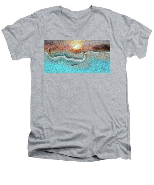 Flow Of Creation Men's V-Neck T-Shirt