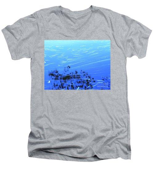 Flow Of Life Men's V-Neck T-Shirt