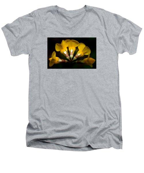 Flower Candelabra Men's V-Neck T-Shirt