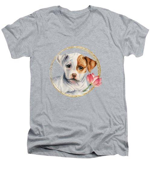 Flower Child 2 Men's V-Neck T-Shirt