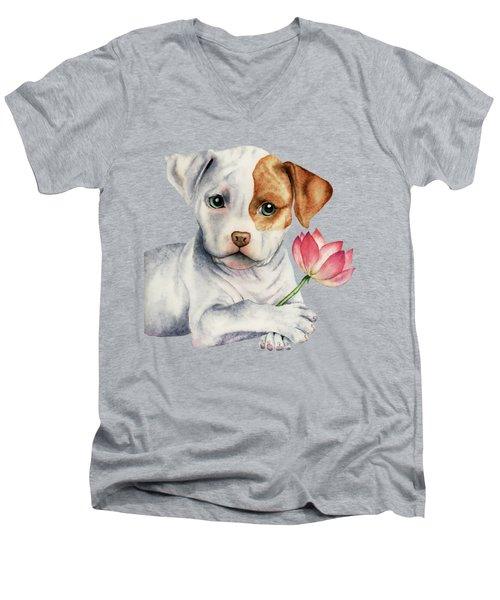 Flower Child Men's V-Neck T-Shirt