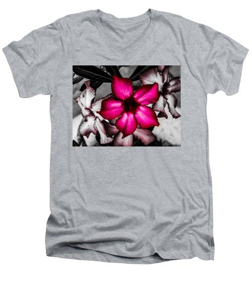 Flower Dreams Men's V-Neck T-Shirt
