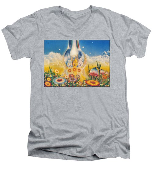 Flower Fairies Men's V-Neck T-Shirt