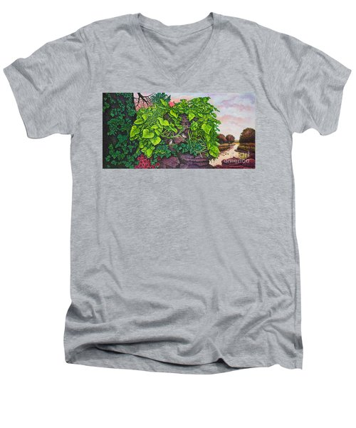 Flower Garden Viii Men's V-Neck T-Shirt