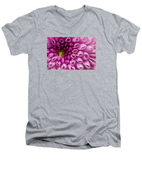 Flower No. 4 Men's V-Neck T-Shirt