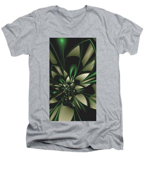 Flower Of Art Men's V-Neck T-Shirt