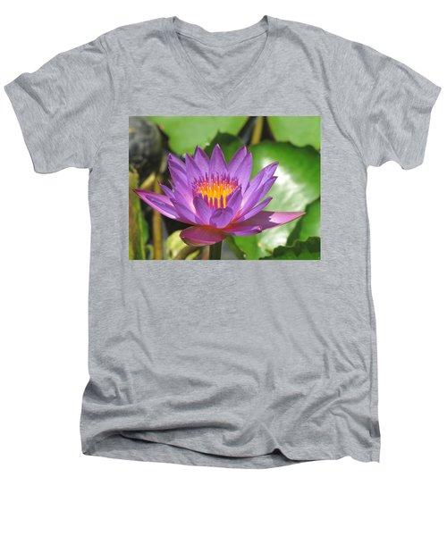 Flower Of The Lilly Men's V-Neck T-Shirt