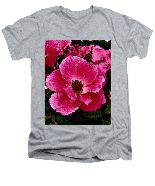 Flower Painting Collection 19 Men's V-Neck T-Shirt