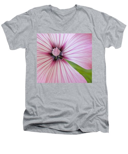 Flower Star Men's V-Neck T-Shirt
