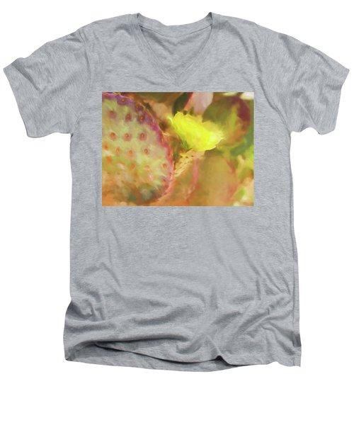 Flowering Pear Men's V-Neck T-Shirt