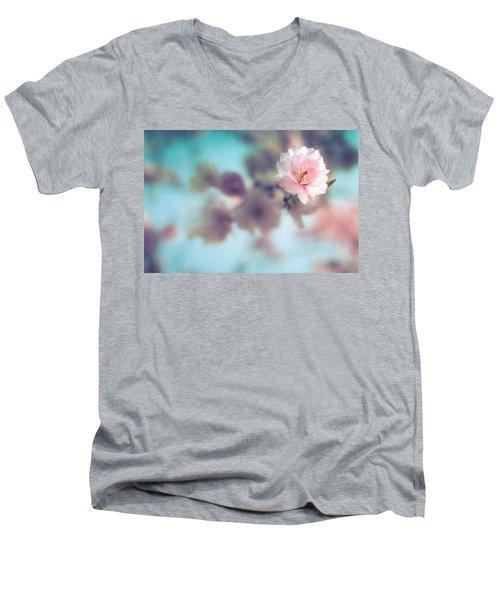 Flowering Tree Men's V-Neck T-Shirt