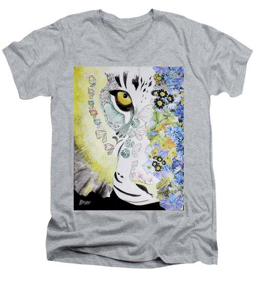 Flowerpower Men's V-Neck T-Shirt