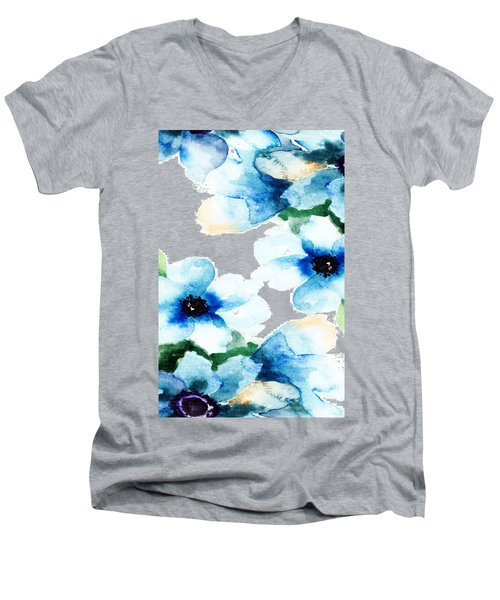 Flowers 06 Men's V-Neck T-Shirt