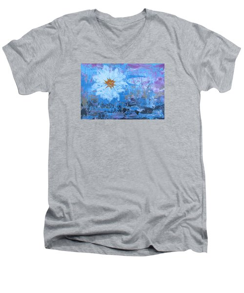 Flowers 19 Men's V-Neck T-Shirt