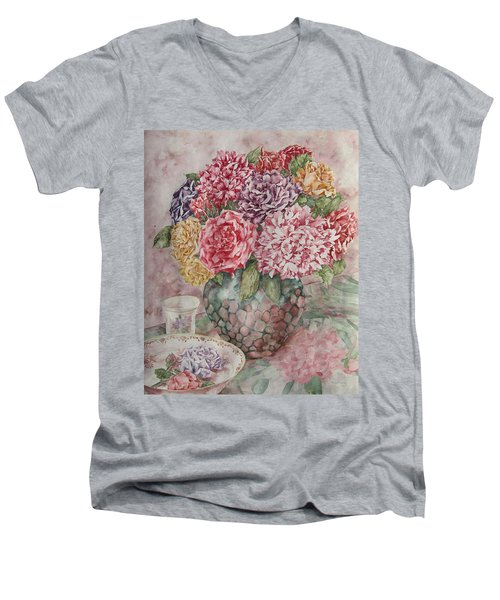 Flowers Arrangement  Men's V-Neck T-Shirt