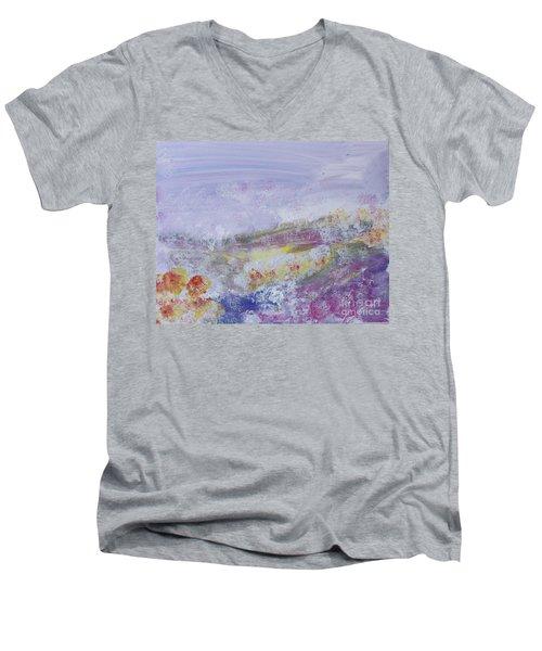 Flowers In The Ether Men's V-Neck T-Shirt